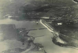 Pembangunan situ cileunca sekitar tahun 1929